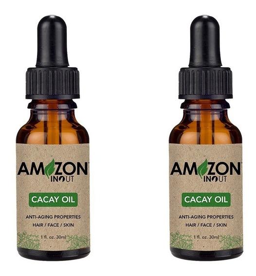 Óleo De Cacay 30ml Amazon In Out Kit Com 2 Óleos