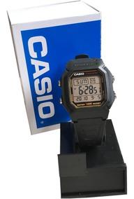Relogio Casio W800hg Série Db36 Listra Dourado Original