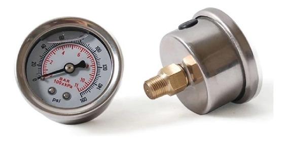 Medidor De Presion De Gasolina Analogo 1/8 Npt Fuel Gauge