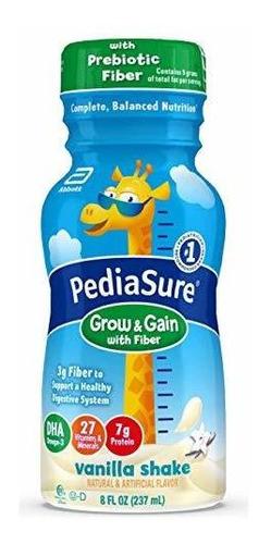Imagen 1 de 6 de Pediasure Crecer Y Ganancia Con Fibra, Niños Nutritional Sha