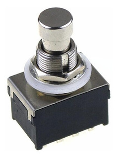 Pulsador Foot Switch 4pdt Pedales Guitarra Efecto 12 Pin
