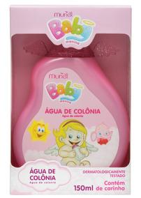 Água De Colônia Perfume Para Bebê Infantil Menina 150ml
