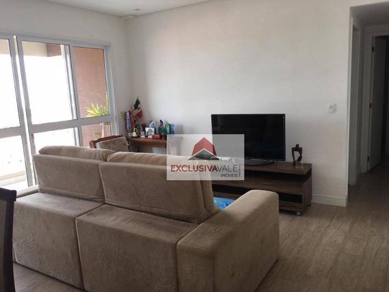 Apartamento Com 2 Dormitórios À Venda, 75 M² Por R$ 425.000 - Jardim Das Indústrias - São José Dos Campos/sp - Ap2562