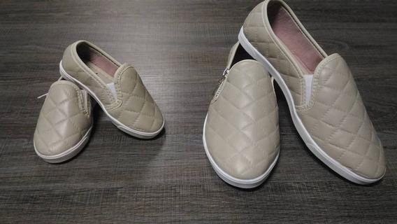 Tênis Sapatos Infantil Menina Feminino Escolar Casual Festas
