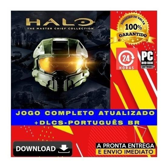 Pacote 4 Jogos Halo Com Todas Dlcs - Pc - Digital + Brinde
