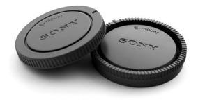 Par Tampa Corpo + Traseira E-mount Sony A6000 A6300 A6500