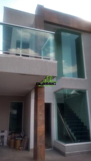 Casa Duplex Com 3 Quartos Para Comprar No Planalto Em Belo Horizonte/mg - 3445