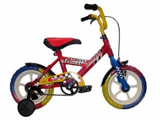 Bicicleta Infantil Kelinbike Rodado 12 Rueditas Color Azul
