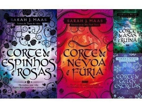 Coleção Corte De Espinhos E Rosas - 4 Volumes Sarah J Maas