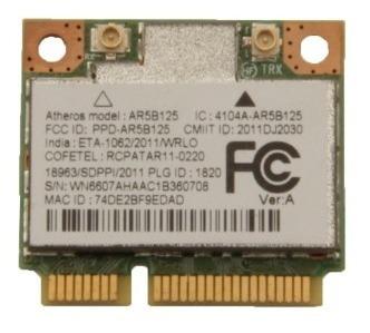 Mini Pci Wireless Atheros Ar5b125 Do Gateway Ne56r06b