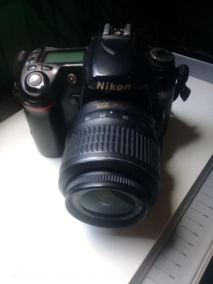 Nikon D80 Com Lente 18-55 Com Poucos Clicks!