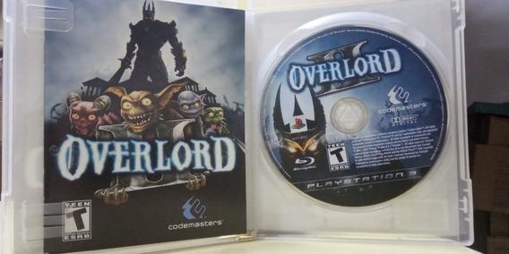 Overlord Ii Ps3 Mídia Física