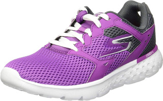 Tenis Skechers 14350x Go Run 400 Morado,gris.performance.