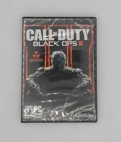 Call Of Duty Black Ops Ill 3 - Nuevo Y Sellado - Pc