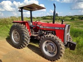Mf 275 1996 4x4 Turbo +grade 4x28 E Carreta 6 Ton, Financio
