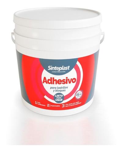 Adhesivo Listo Para Ladrillos Y Bloques 25kg Sinteplast Indu