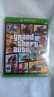Grand Theft Auto V Gta- Nuevo Y Sellado - Xbox One