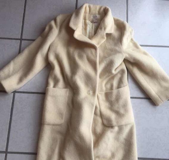 Abrigo Vintage Para Dama Años 70s Lana Genuina Talla 6
