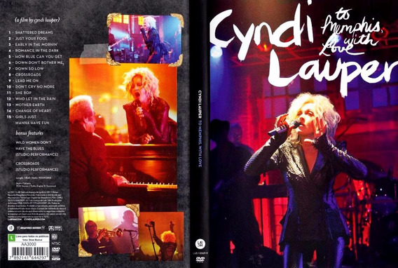 Lauper Cyndi - To Memphis, With Love Dvd R