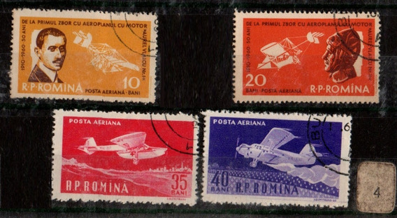 Rumania Tematica Aviones Transporte