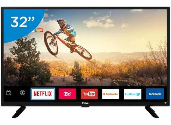 Smart Tv Led 32 Philco Ptv32g50sn - conversor Digital Wi-fi