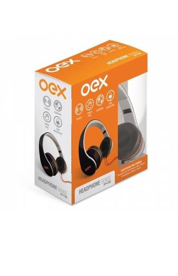 Fone De Ouvido Headphone Over Ear Oex Sense Hp100 - Dobrável