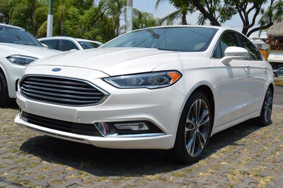 Ford Fusion 2018 Titanium Plus Blanco