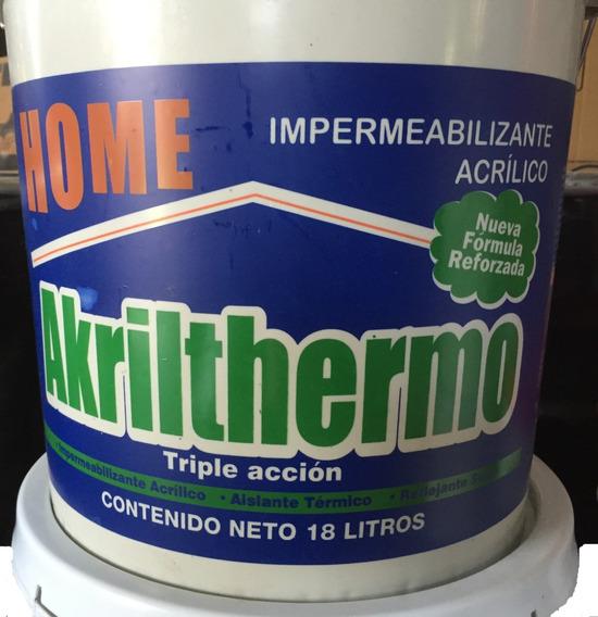 Impermeabilizante 7a Años Térmico + 1/4 Kg. Cemento Plástico