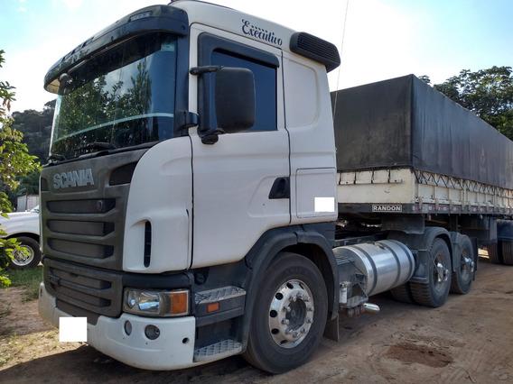 Scania G 420 A 6x2 Ano 2010/2011 Semi Automática Toda Revisa