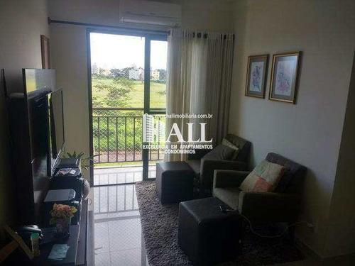 Apartamento Com 2 Dorms, Jardim Bosque Das Vivendas, São José Do Rio Preto - R$ 279.000,00, 60m² - Codigo: 3823 - V3823