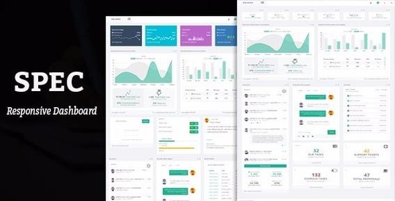 Spec - Responsive Bootstrap Dashboard