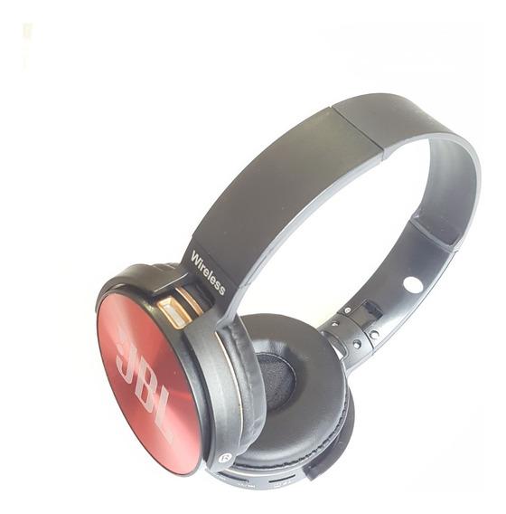 Fone De Ouvido Bluetooth Headphone Jb950 Sem Fio Cartão Sd Rádio Fm Ótimo Grave Carregador 2.1a De Brinde