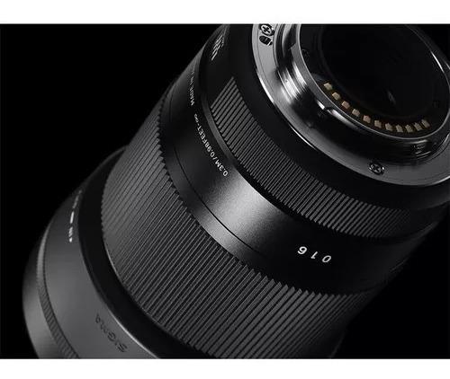 Lente Sigma 30mm F / 1.4 Dc Dn Para Sony E Mount - Sony Novo