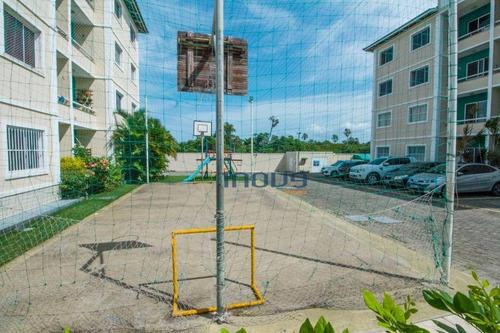 Apartamento Com 3 Dormitórios À Venda, 57 M² Por R$ 230.000 - Maraponga - Fortaleza/ce - Ap1539