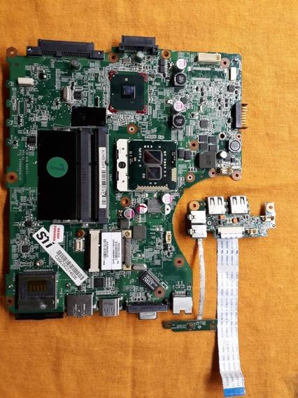 Placa Mae Notebook Toshiba Sti Infinity
