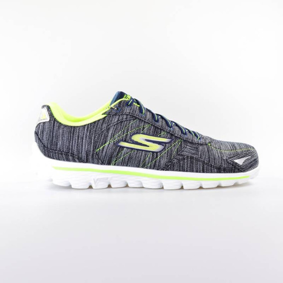 Tênis Feminino Skechers Go Walk 2 Flash Li 14020 Nvlm