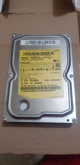 Hd Samsung Sata - 320gb - Modelo Hd321hj