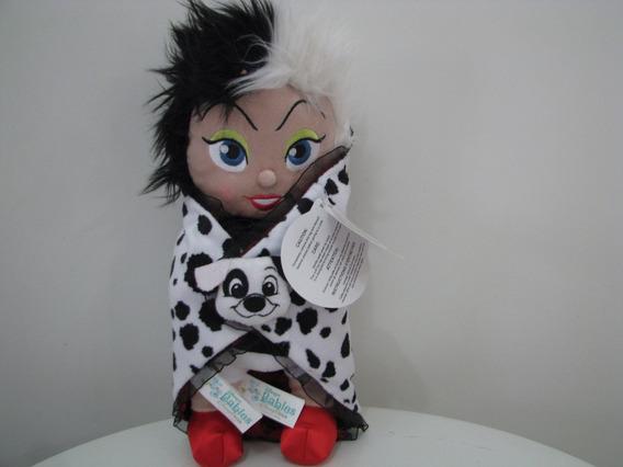 Pelucia Cruela Dálmatas Disney Store Disney Babies Orig 30cm