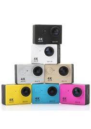 Câmera De Ação Go Action Cam Pro 4k Sports Wi-fi Ultra-hd