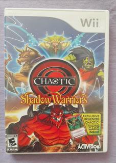 Videojuego Nintendo Wii Shadow Warriors