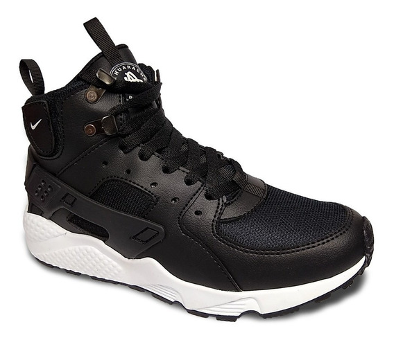 Zapato Deportivo Nike Air Huarache Caballero Botas Gomas
