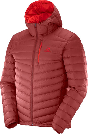 Camperas De Pluma Salomon - Halo Down Hooded Jacket - Hombre