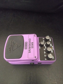 Pedal Bass Overdrive Behringer