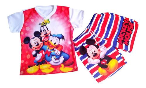 Imagen 1 de 1 de Conjunto Deportivo De Mickey Mouse