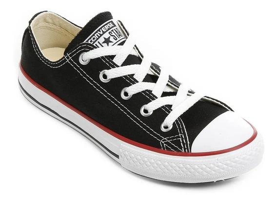 Tênis All Star Converse Infantil Preto E Branco - Original