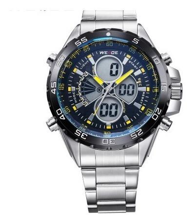 Lindos Relógios Em Aço Inoxidável Aprova D