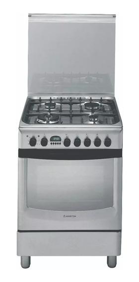 Cocina Ariston Cx 660s P6 X Inox 60cm Horno Electrico Cuotas