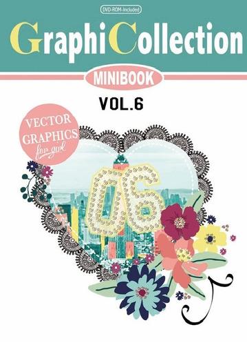 Vetores Estampas Book  Graphicollection Minibook