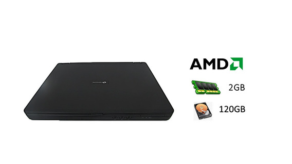 Notebook Evolute Amd Sempron 2gb Hd120 Barato Outlet