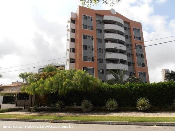 Apartamento Para Venda Em Natal, Capim Macio, 3 Dormitórios, 1 Suíte, 3 Banheiros, 2 Vagas - Ka 0911_2-974619